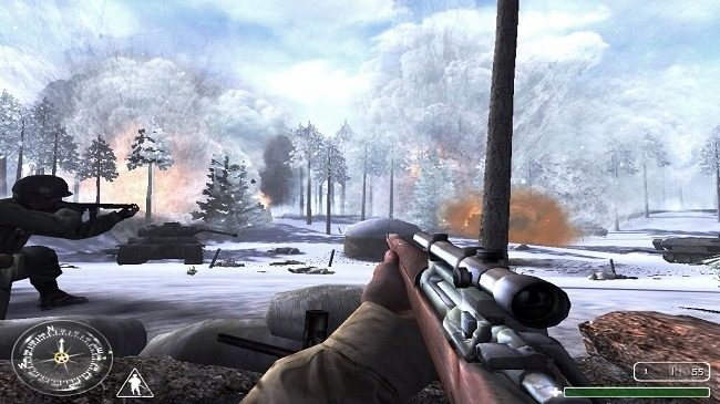 Call of Duty United Offensive Screen Shot 3, Full Version, PC Download