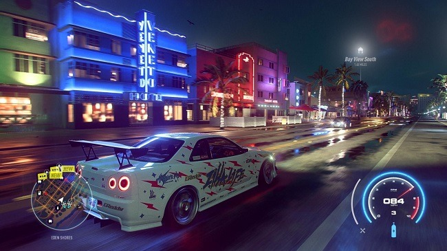 Need for Speed Heat Screen Shot 1, Download, Free PC Game